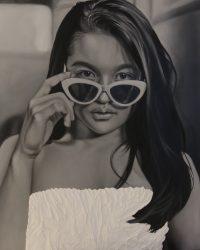 """Annika"", Oil on Canvas, 30 x 24 inches, 2018"