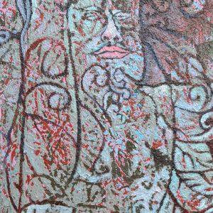 Buniyal Abroru Soully King,20x30,AOC,2016