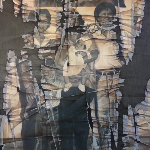 CHRISTENING by Gretel Balajadia, OC, 4 x 3 ft, 2019