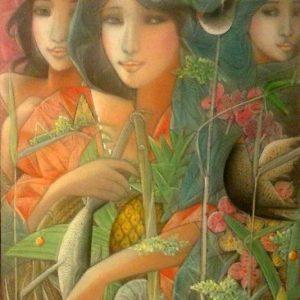 Tres Marias by Tam Austria OC 24 x 18 2002