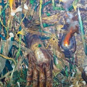 A Righteous Hand, Noel Elicana, Oil on Canvas, 4 x 3 ft, 2020 - GP 50,000