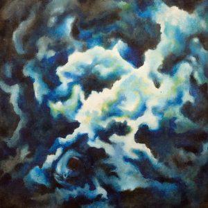 Brightside by John Romer Pavilando, Acrylic on canvas, 17 x 15 inches, 2014