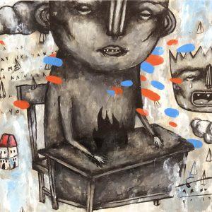 Luzon 2, Arno Salvador, Acrylic on Paper, 12 x 18 inches, 2019