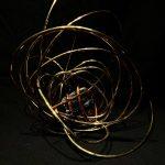 """#8. """"Purify"""", 14""""x15""""x12"""", black tourmaline, copper, brass 2020"""