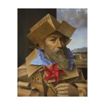 """Brian Uhing, """"Don Quixote"""", Oil on Canvas, 17x13 inches, undated"""