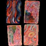 Myocardium 1, Juno Vizcarra, Colored Pencil on Paper, 7x8 inches, 2021