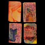 Myocardium 2, Juno Vizcarra, Colored Pencil on Paper, 7x8 inches, 2021