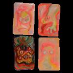 Myocardium 3, Juno Vizcarra, Colored Pencil on Paper, 7x8 inches, 2021
