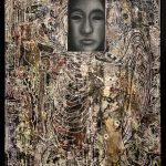 Francesco Ochoco, Stop Waiting foor May, Oil and Acrylic on Canvas, 36 x 24 inches, 2021